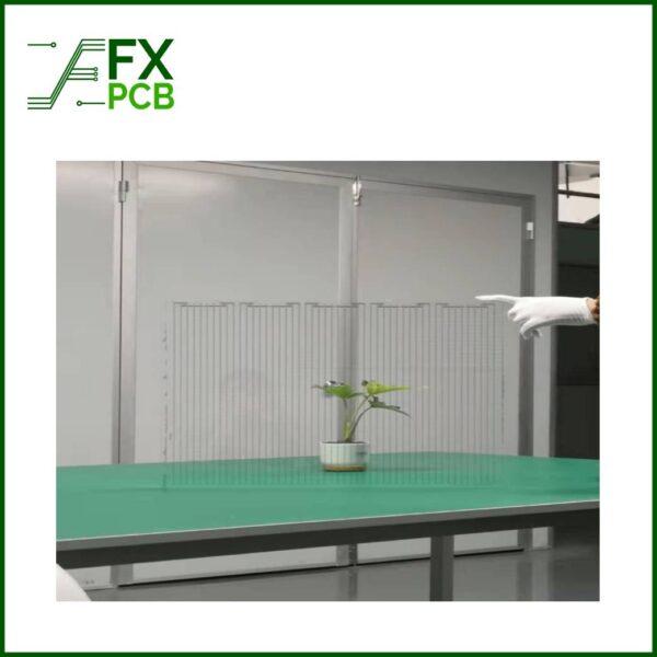 Transparent Glass PCB